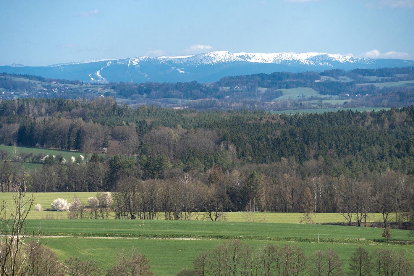 Заснеженные Крконошcкие горы