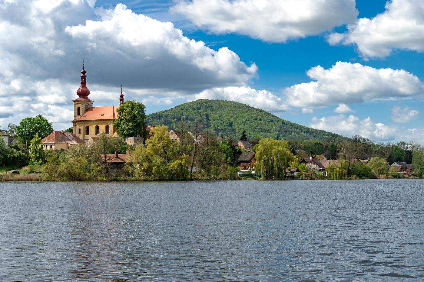 Поселок Голаны, Северная Чехия