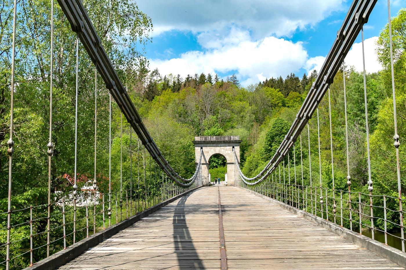 Стадлецкий цепной мост