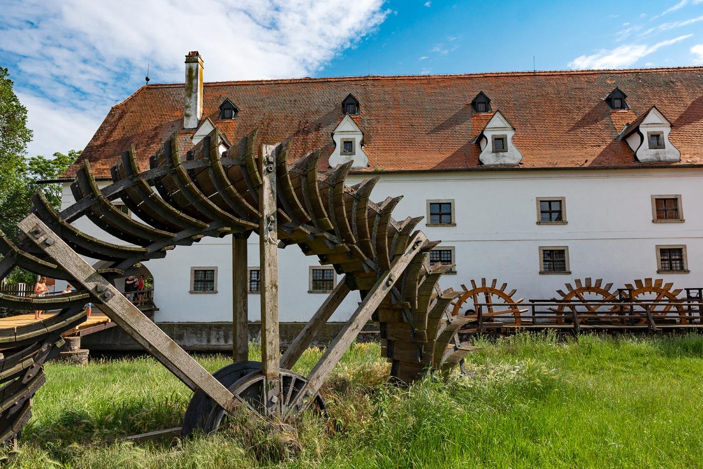 Водяная мельница в Слупе, Южная Моравия
