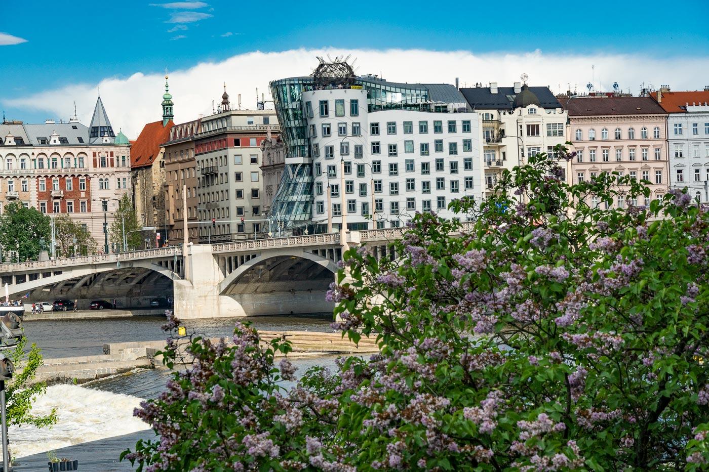Прага, Танцующий дом