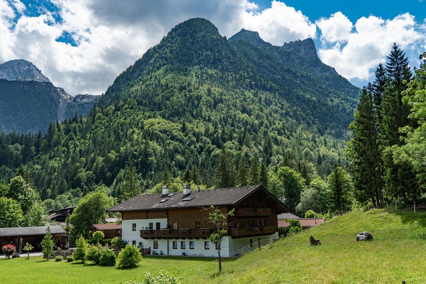 Долина Лофер, Австрия