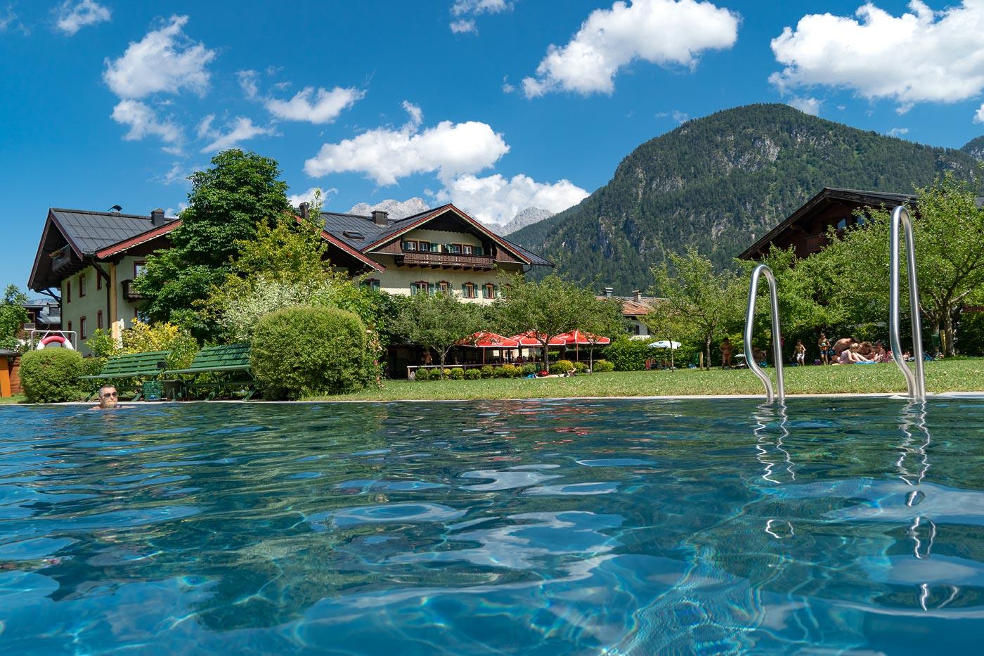 Бассейн в Лофере, Австрия