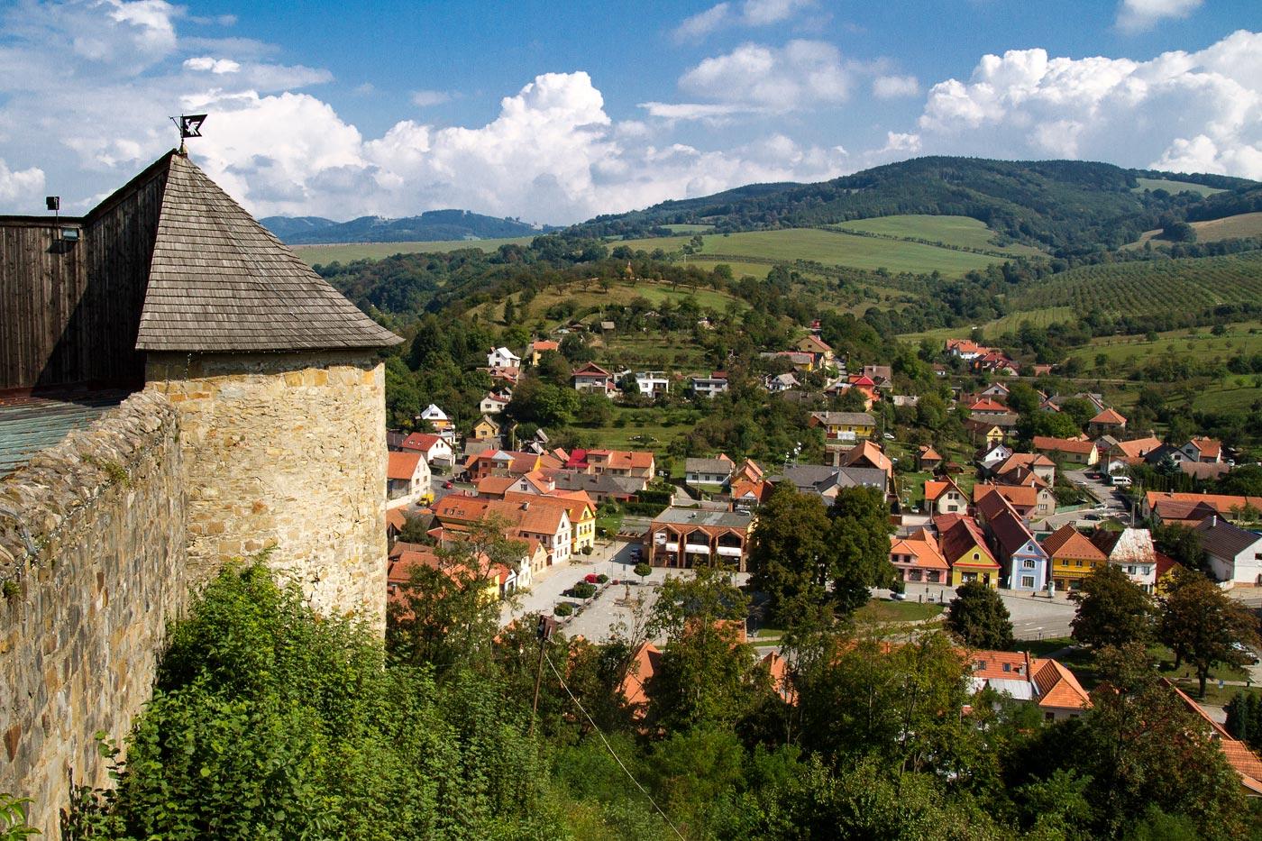 Замок Брумов, Востояная Моравия