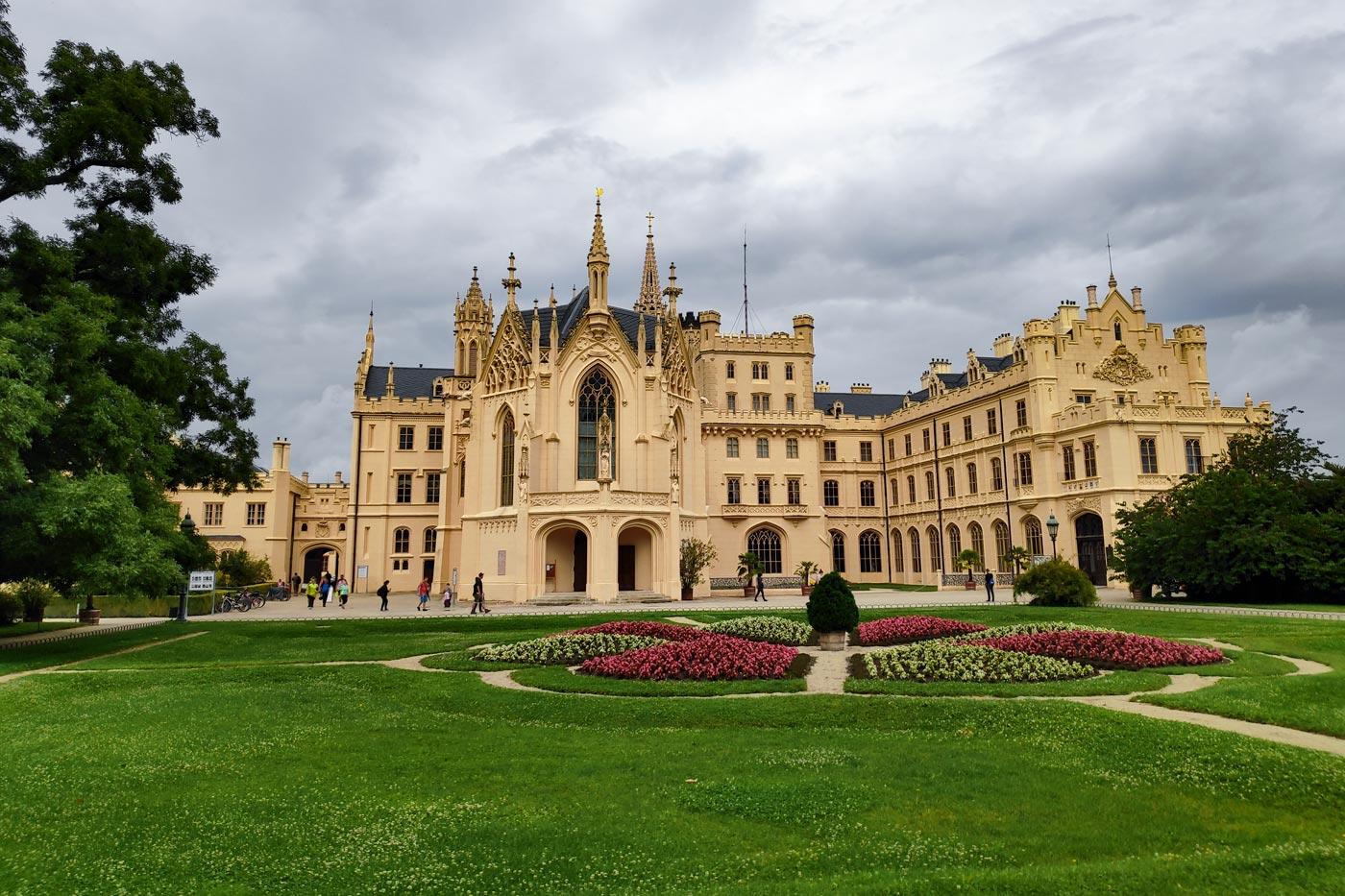 Дворец Леднице, Южная Моравия
