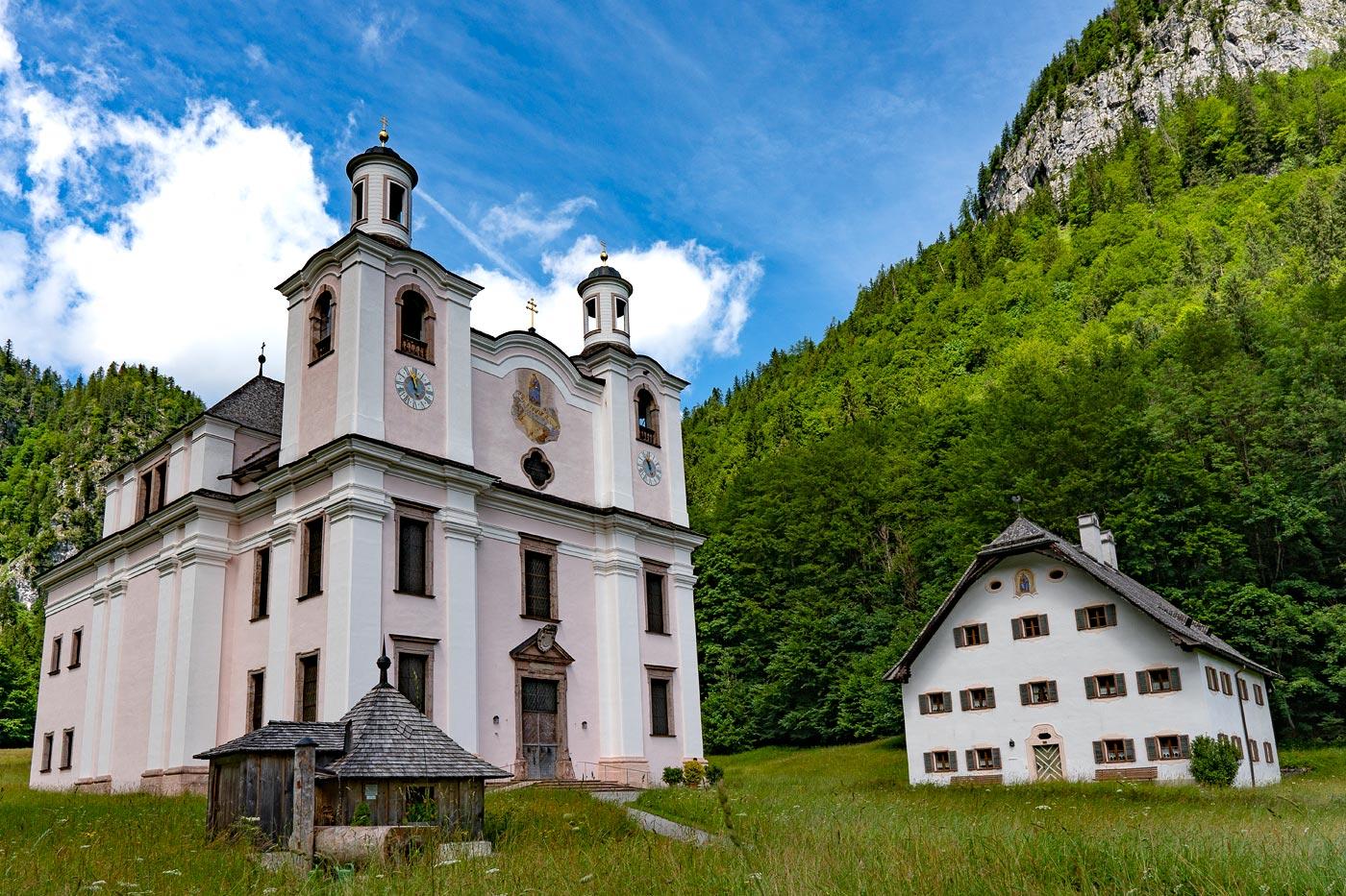 Паломнический костел Maria Kirchental у Лофера