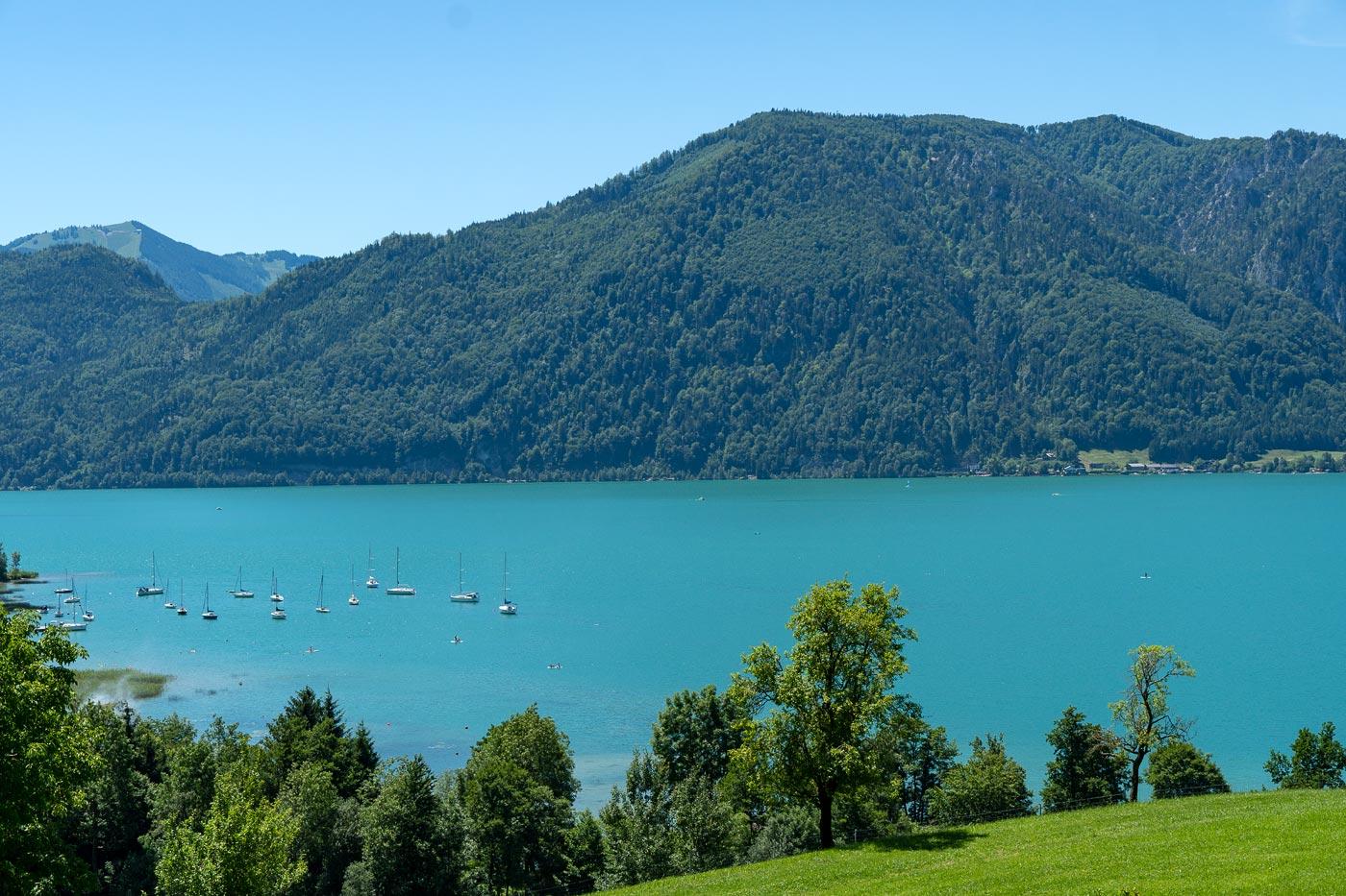 Озеро Мондзее, Австрия