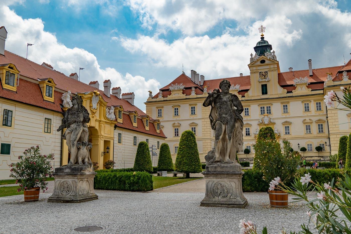 Дворец Валтице, Южная Моравия