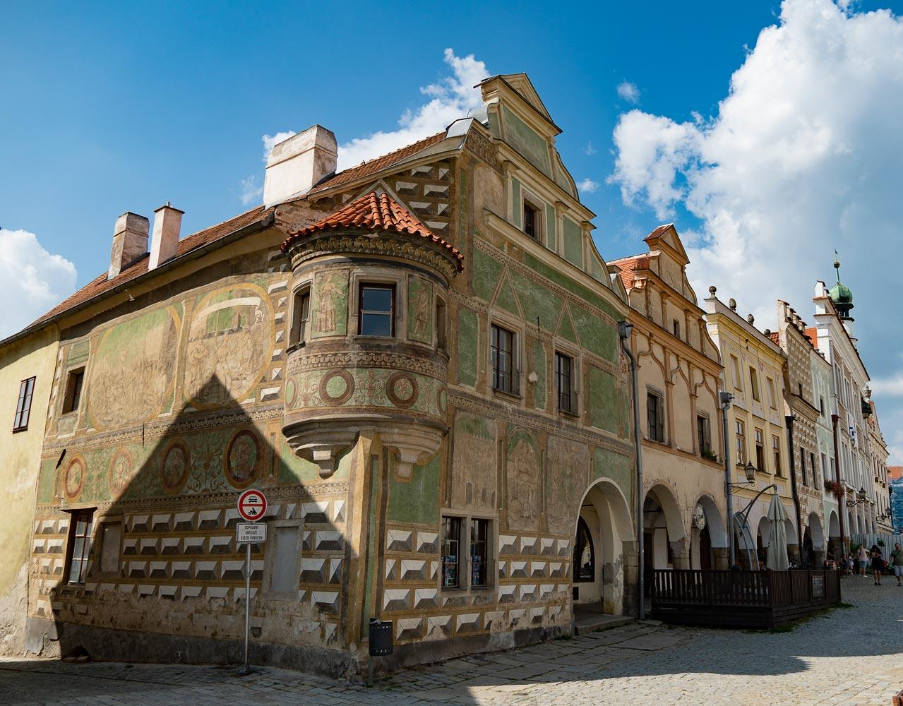 Средневековый дом, Телч