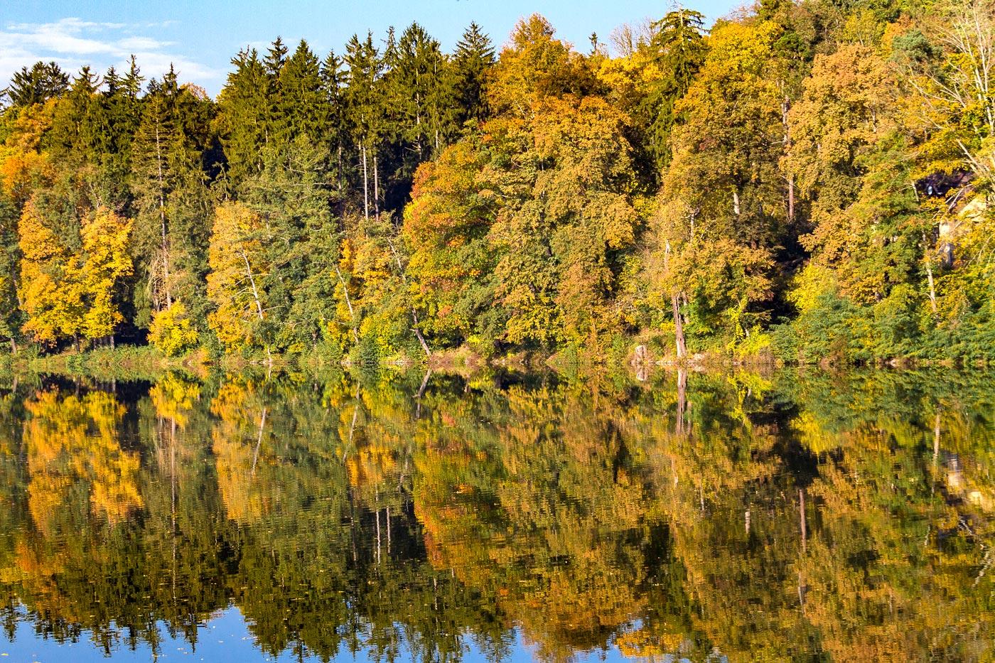 Золотая осень, Конопиштский рыбник